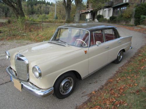 Verkauft Mercedes 190 Dc Heckflosse Gebraucht 1964 138 000 Km In