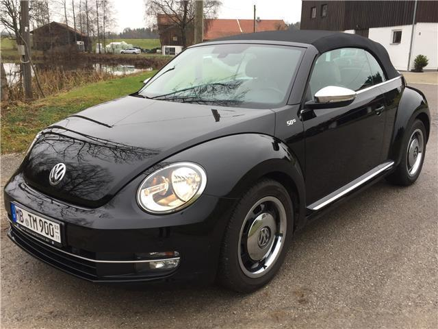 Vw Beetle Cabrio 1 2 Tsi 50 S Leder Beige Navi