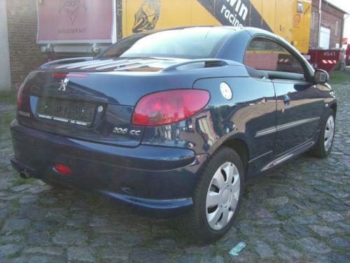 verkauft peugeot 206 cc hdi fap 110 le gebraucht 2006 km in berlin. Black Bedroom Furniture Sets. Home Design Ideas
