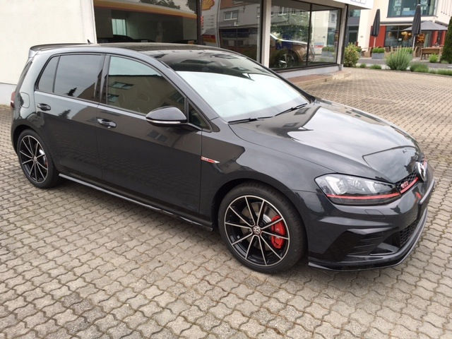 verkauft vw golf gti clubsport 2 0 tsi gebraucht 2016 50 km in hoesbach. Black Bedroom Furniture Sets. Home Design Ideas