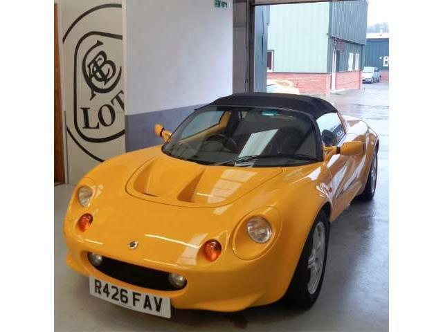 verkauft lotus elise gebraucht 1998 km in br hl autouncle. Black Bedroom Furniture Sets. Home Design Ideas