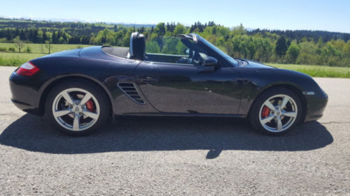 verkauft porsche boxster rs 60 spyder gebraucht 2009 km in dresden. Black Bedroom Furniture Sets. Home Design Ideas