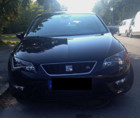 verkauft seat leon fr 1 4 tsi 6 gang gebraucht 2014 km in waging am see. Black Bedroom Furniture Sets. Home Design Ideas