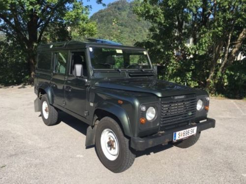 verkauft land rover defender 110 stati gebraucht 2006 km in freilassing. Black Bedroom Furniture Sets. Home Design Ideas