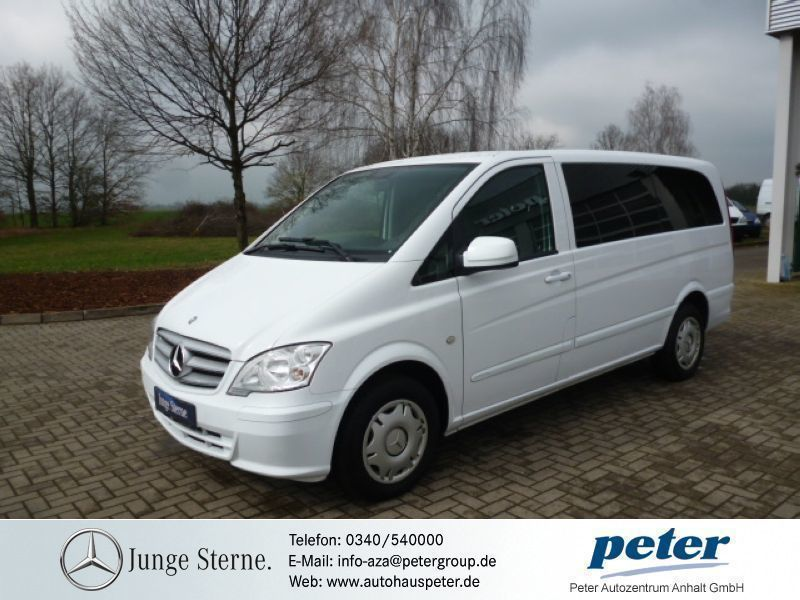 verkauft mercedes vito 122 cdi mixto a gebraucht 2012. Black Bedroom Furniture Sets. Home Design Ideas