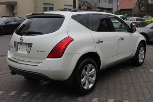 gebraucht 3 5 automatik navi alu 18 mj 2008 nissan murano 2007 km in herten. Black Bedroom Furniture Sets. Home Design Ideas