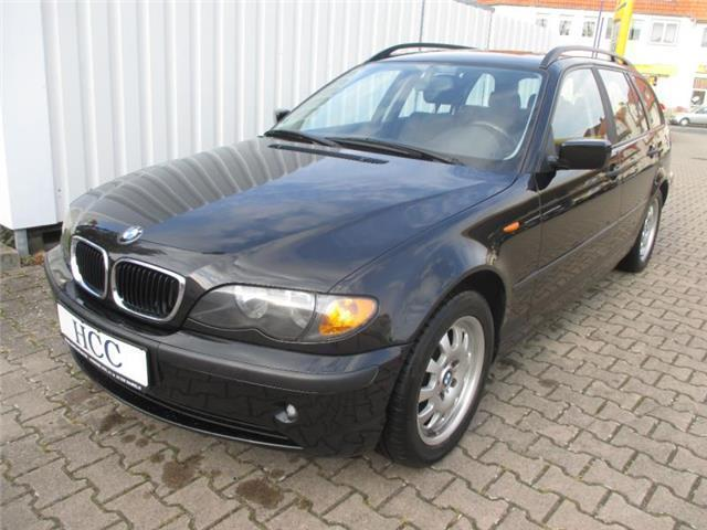 verkauft bmw 318 3er touring gebraucht 2003 km. Black Bedroom Furniture Sets. Home Design Ideas