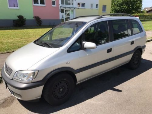 verkauft opel zafira 2 2 7sitzer moto gebraucht 2002 km in dortmund wickede. Black Bedroom Furniture Sets. Home Design Ideas