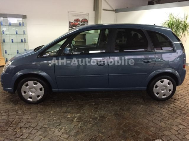 verkauft opel meriva 1 6 16v edition k gebraucht 2010 km in morsum. Black Bedroom Furniture Sets. Home Design Ideas