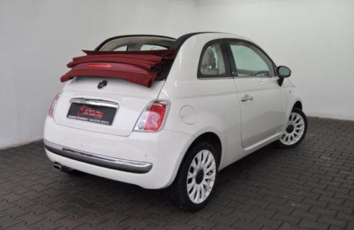 verkauft fiat 500 cabrio automatik n gebraucht 2013 km in berlin. Black Bedroom Furniture Sets. Home Design Ideas