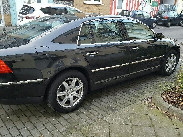 verkauft vw phaeton 3 0 v6 tdi dpf 4mo gebraucht 2005 km in hamm. Black Bedroom Furniture Sets. Home Design Ideas