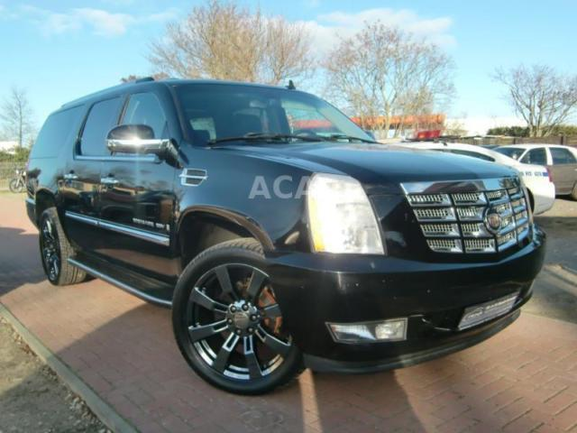 verkauft cadillac escalade esv lang 6 gebraucht 2007. Black Bedroom Furniture Sets. Home Design Ideas