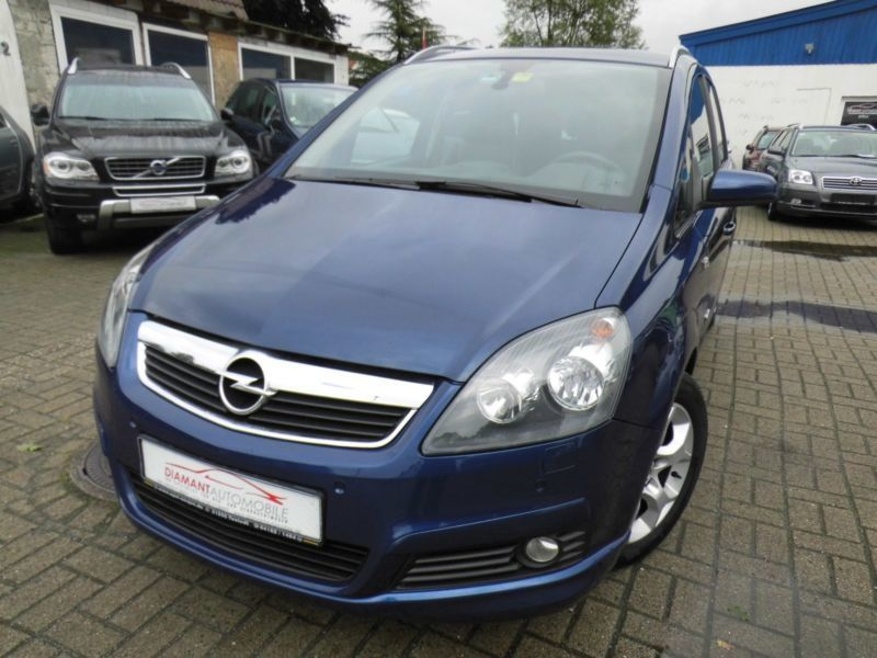 verkauft opel zafira 1 9 cdti opc navi gebraucht 2006 km in geestland. Black Bedroom Furniture Sets. Home Design Ideas