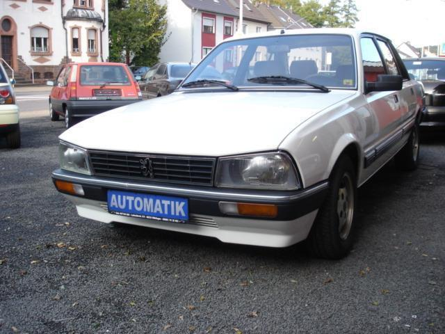gebraucht gti seltener automatik klima erst 88tkm 2 damenhd peugeot 505 1986 km in. Black Bedroom Furniture Sets. Home Design Ideas