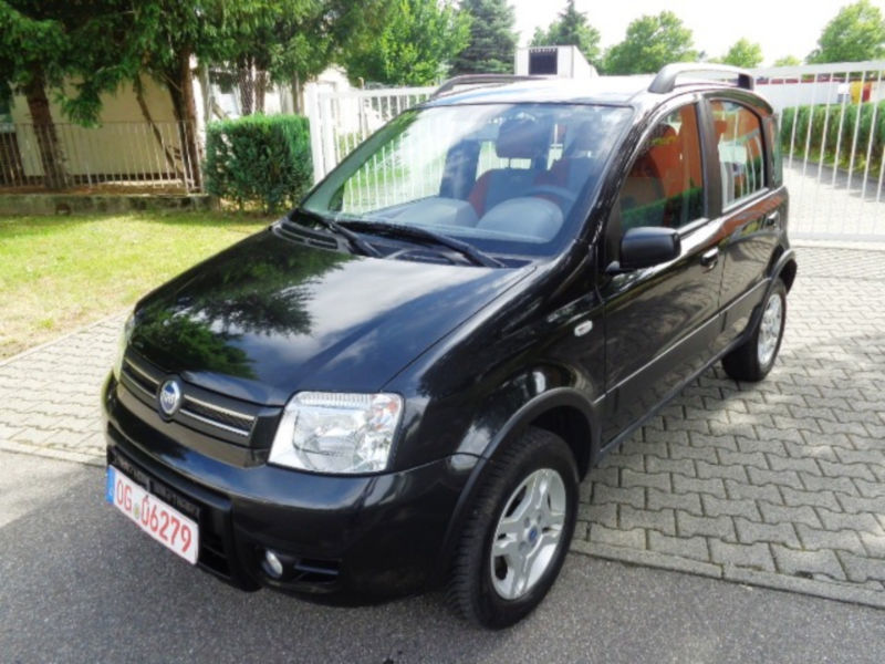 gebraucht 1 2 8v climbing 4x4 fiat panda 4x4 2005 km in altenmarkt. Black Bedroom Furniture Sets. Home Design Ideas