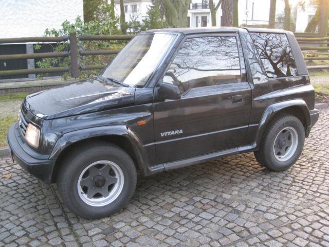verkauft suzuki vitara jlx cabrio auto gebraucht 1994 km in berlin. Black Bedroom Furniture Sets. Home Design Ideas