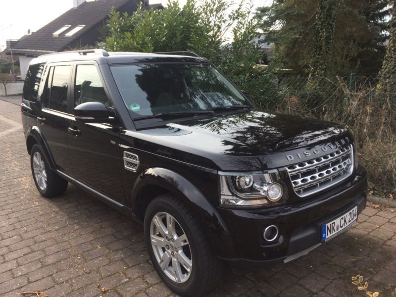 verkauft land rover discovery td v6 hse gebraucht 2015 km in melsbach. Black Bedroom Furniture Sets. Home Design Ideas