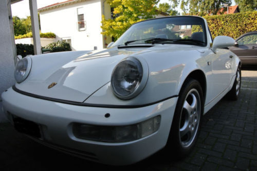verkauft porsche 964 cabrio tiptronic gebraucht 1992 km in sankt augustin. Black Bedroom Furniture Sets. Home Design Ideas