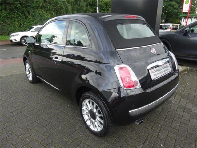 verkauft fiat 500c 500c1 2 lounge blue gebraucht 2012 km in leverkusen. Black Bedroom Furniture Sets. Home Design Ideas