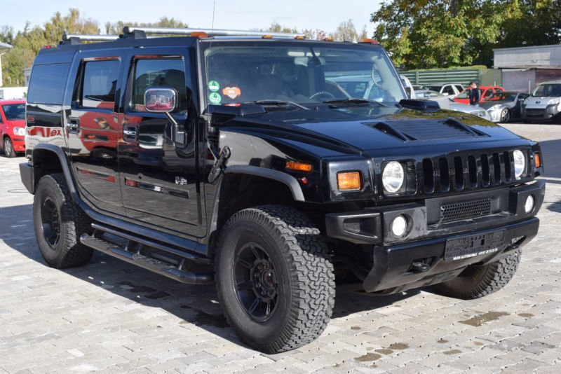 Verkauft Hummer H2 Black Editiondeuts Gebraucht 2004 81000 Km