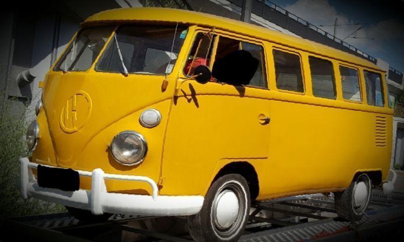verkauft vw t1 bulli 15 fensterbus gebraucht 1975 km in dresden. Black Bedroom Furniture Sets. Home Design Ideas