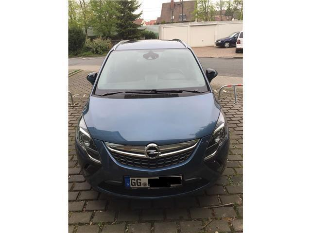verkauft opel zafira tourer 1 6 sidi t gebraucht 2014. Black Bedroom Furniture Sets. Home Design Ideas