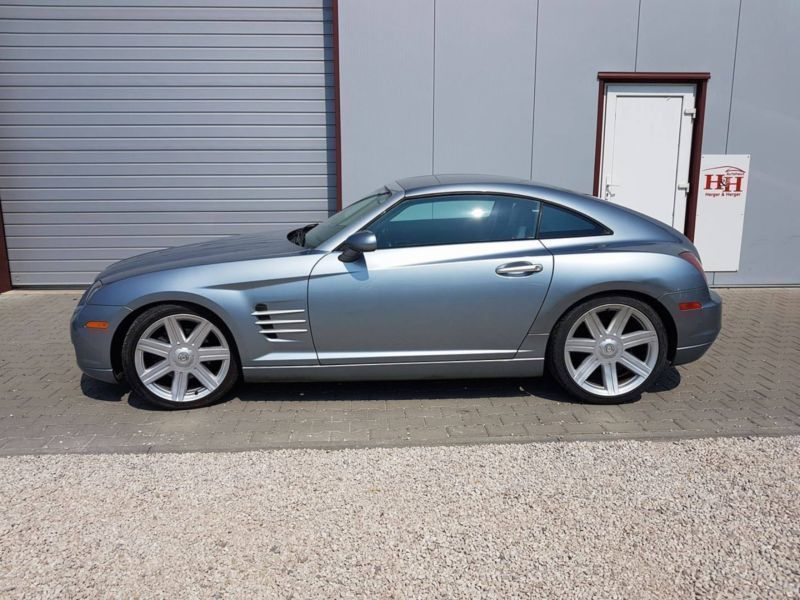 verkauft chrysler crossfire automatik gebraucht 2004 km in aichach. Black Bedroom Furniture Sets. Home Design Ideas