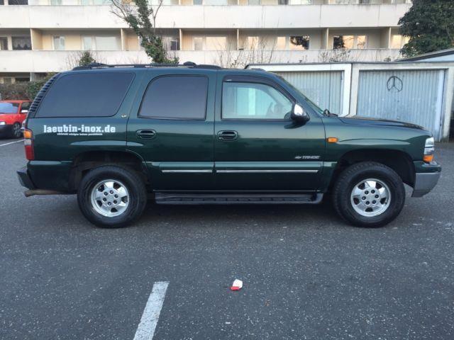 tahoe gebrauchte chevrolet tahoe kaufen 56 g nstige autos zum verkauf. Black Bedroom Furniture Sets. Home Design Ideas