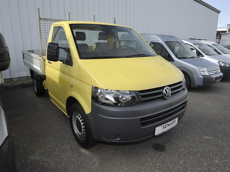 verkauft vw transporter t5 pritsche 2 gebraucht 2012 km in l beck. Black Bedroom Furniture Sets. Home Design Ideas