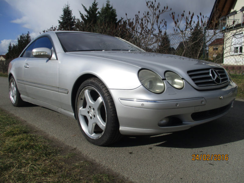 verkauft mercedes 500 cl coupe gebraucht 1999 km. Black Bedroom Furniture Sets. Home Design Ideas