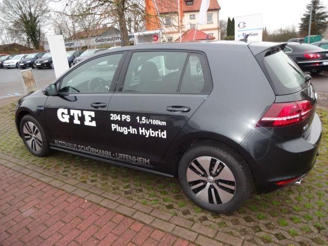 verkauft vw golf 1 4 gte plug in hybri gebraucht 2015 km in uffenheim. Black Bedroom Furniture Sets. Home Design Ideas