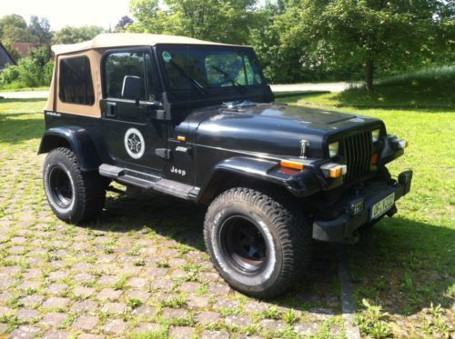 verkauft jeep wrangler yj gebraucht 1994 km in fladungen. Black Bedroom Furniture Sets. Home Design Ideas