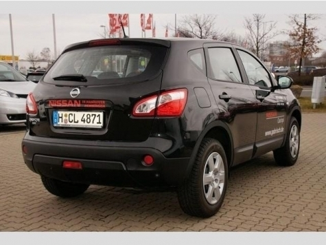 verkauft nissan qashqai acenta 1 6 ben gebraucht 2012 1. Black Bedroom Furniture Sets. Home Design Ideas
