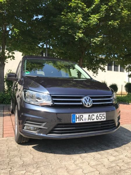 verkauft vw caddy maxi comfortline dsg gebraucht 2017 km in bad emstal. Black Bedroom Furniture Sets. Home Design Ideas