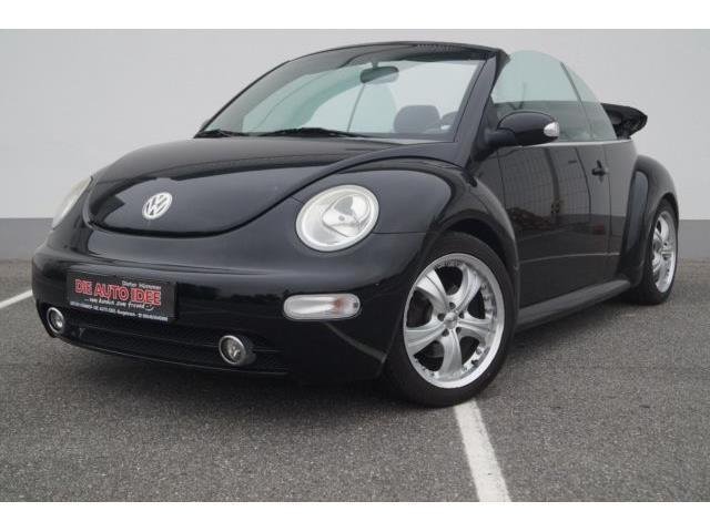 gebraucht newcabriolet 1 4 elektrisches verdeck vw beetle 2003 km in burgebrach. Black Bedroom Furniture Sets. Home Design Ideas