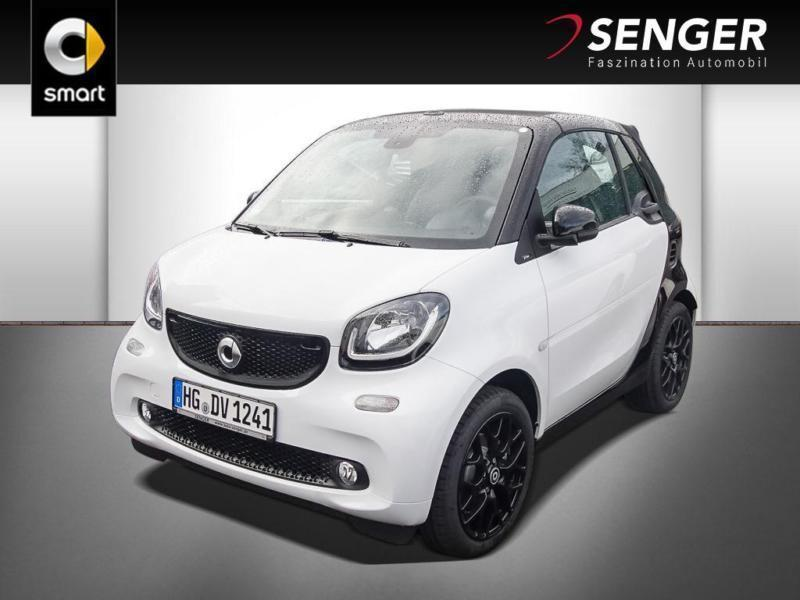 gebraucht Smart ForTwo Cabrio 66kW turbo twinamic Sportpaket