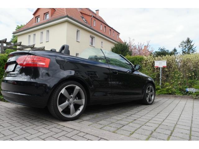verkauft audi a3 cabriolet 2 0 tdi dpf gebraucht 2012 km in hannover. Black Bedroom Furniture Sets. Home Design Ideas