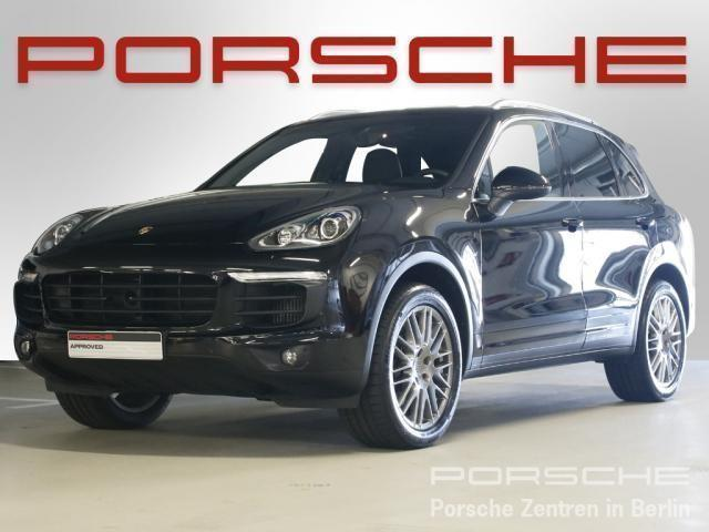 verkauft porsche cayenne diesel gebraucht 2016 km in berlin. Black Bedroom Furniture Sets. Home Design Ideas