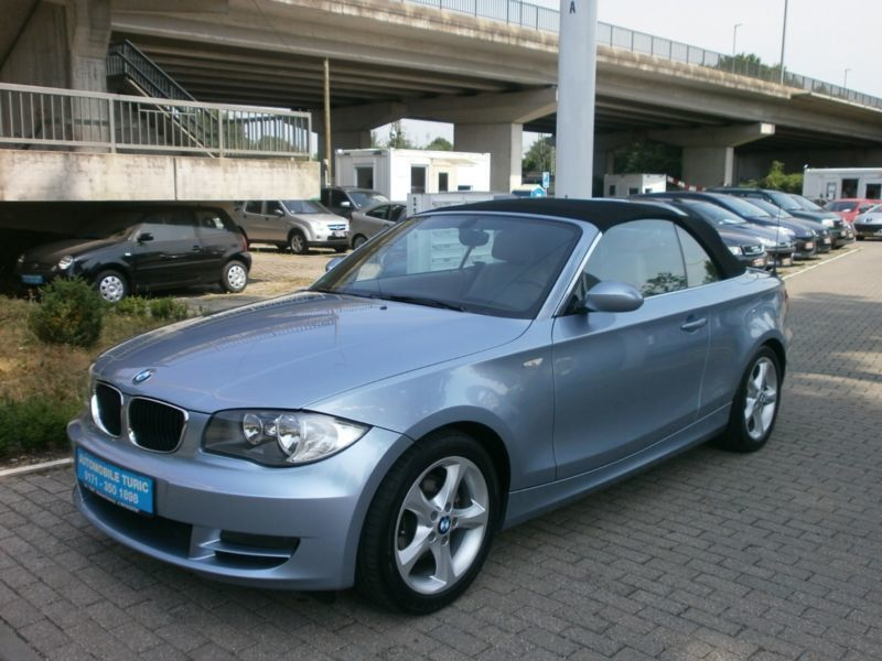 verkauft bmw 125 cabriolet i navi sitz gebraucht 2009. Black Bedroom Furniture Sets. Home Design Ideas