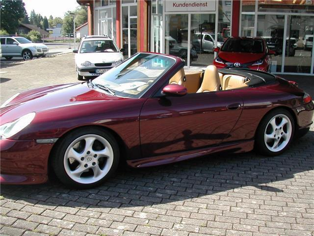 gebraucht cabrio usa import porsche 996 2000 km in wehr baden. Black Bedroom Furniture Sets. Home Design Ideas