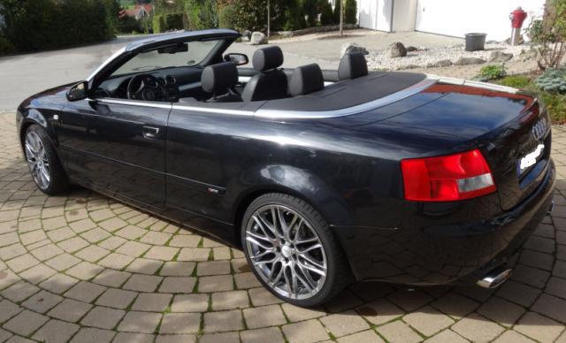 verkauft audi rs4 s line cabrio hofe gebraucht 2004 km in betzigau. Black Bedroom Furniture Sets. Home Design Ideas