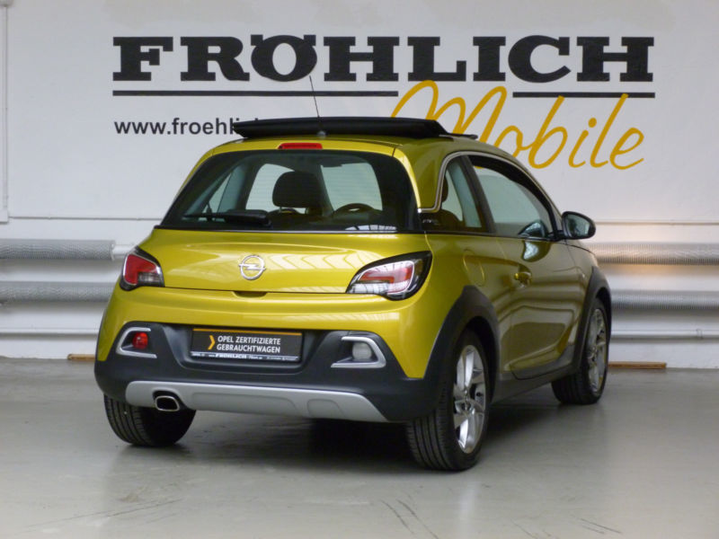 verkauft opel adam rocks 1 4 faltdach gebraucht 2015 km in braunschweig. Black Bedroom Furniture Sets. Home Design Ideas