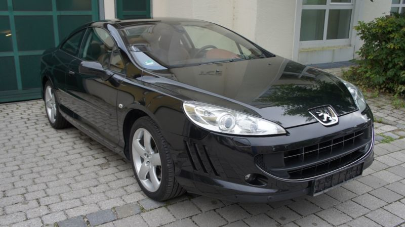verkauft peugeot 407 coupe v6 210 auto gebraucht 2007 km in m nchen. Black Bedroom Furniture Sets. Home Design Ideas