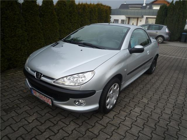 verkauft peugeot 206 cc 110 gebraucht 2003 km in oer erkenschwick. Black Bedroom Furniture Sets. Home Design Ideas