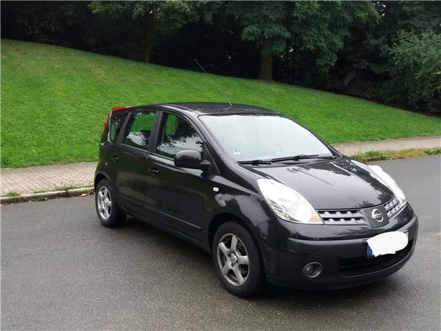 verkauft nissan note 1 4 visia gebraucht 2007 km. Black Bedroom Furniture Sets. Home Design Ideas