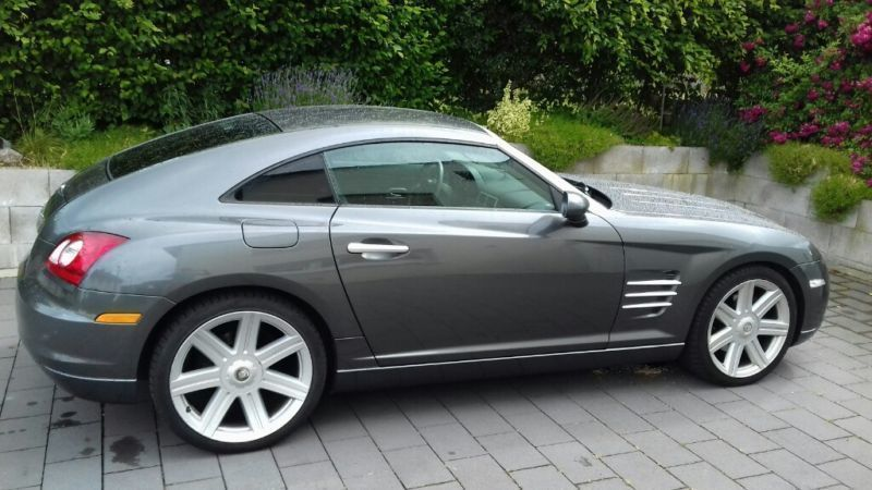 verkauft chrysler crossfire automatik gebraucht 2004 km in arnsberg. Black Bedroom Furniture Sets. Home Design Ideas