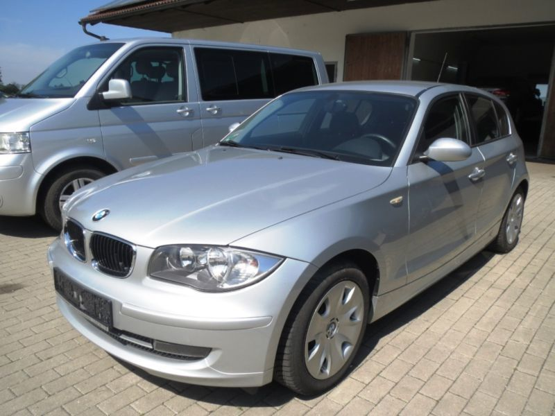 verkauft bmw 116 1er dpf gebraucht 2009 km in. Black Bedroom Furniture Sets. Home Design Ideas