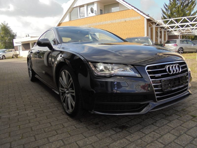 verkauft audi a7 sportback 3 0 tdi qua gebraucht 2013. Black Bedroom Furniture Sets. Home Design Ideas