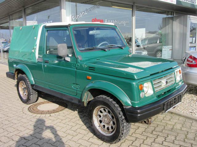 verkauft suzuki samurai 1 9 diesel lan gebraucht 2003 km in wolfsburg. Black Bedroom Furniture Sets. Home Design Ideas