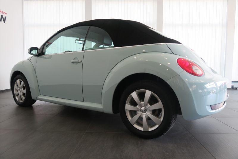 verkauft vw beetle newcabrio 1 6 verde gebraucht 2005 km in nordwest. Black Bedroom Furniture Sets. Home Design Ideas